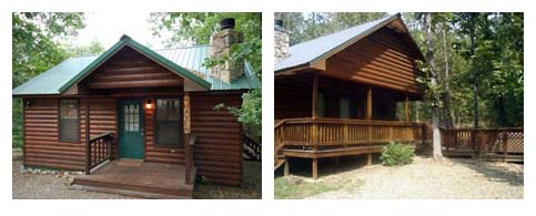 Cabins in Broken Bow